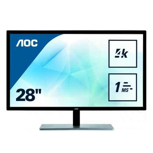 AOC 28inch Monitor U2879VF price in hyderabad, telangana, nellore, vizag, bangalore