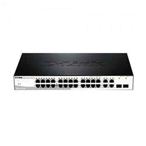 D Link DES 1210 28P Fast Ethernet Smart Managed Switch price in hyderabad, telangana, nellore, vizag, bangalore