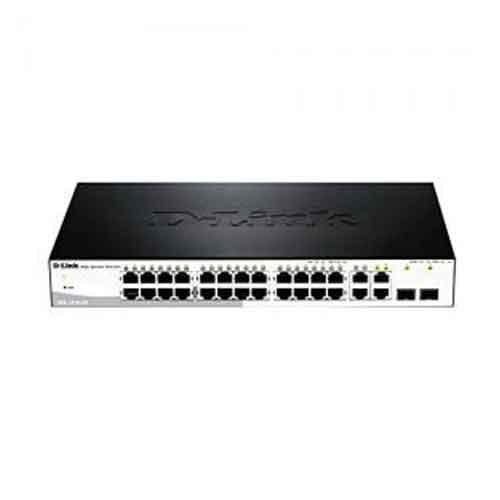 D Link DGS 1210 28 Port Gigabit Smart Switch price in hyderabad, telangana, nellore, vizag, bangalore