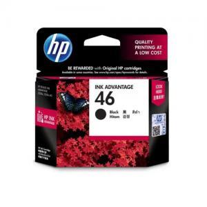 HP 46 CZ637AA Black Original Ink Cartridge price in hyderabad, telangana, nellore, vizag, bangalore