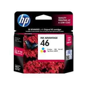 HP 46 CZ638AA Tri color Ink Advantage Cartridge price in hyderabad, telangana, nellore, vizag, bangalore