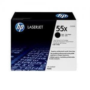 HP 55X CE255X High Yield Black LaserJet Toner Cartridge price in hyderabad, telangana, nellore, vizag, bangalore