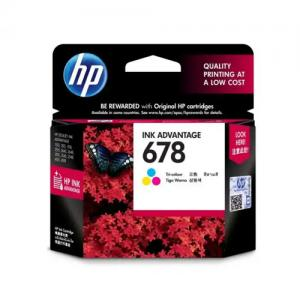 HP 678 CZ108AA Tri color Ink Cartridge price in hyderabad, telangana, nellore, vizag, bangalore