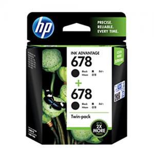 HP 678 L0S23AA Twin Black Combo Ink Cartridge price in hyderabad, telangana, nellore, vizag, bangalore