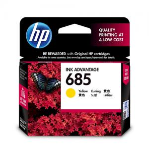 HP 685 CZ124AA Yellow Original Ink Cartridge price in hyderabad, telangana, nellore, vizag, bangalore